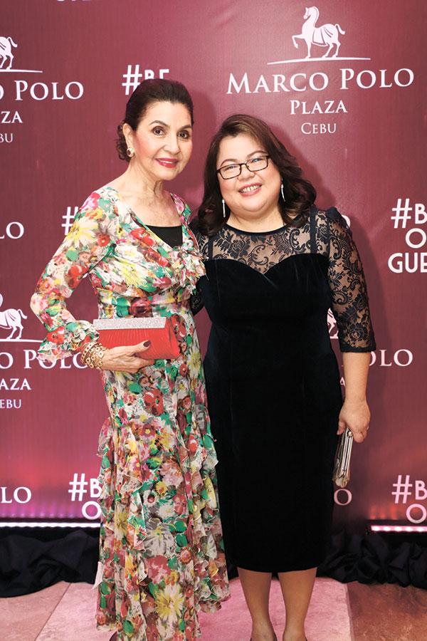 Madame Amparito Lhuillier and Director of Sales & Marketing Lara Constantino Scarrow