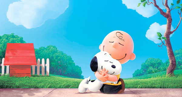 """Snoopy and Charlie Brown from Charles Schulz's timeless """"Peanuts"""" comic strip in their big-screen debut in a CG-animated feature film in 3D, """"The Peanuts Movie."""""""