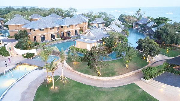 The Villas of Be Grand Resort in Panglao Island, Bohol
