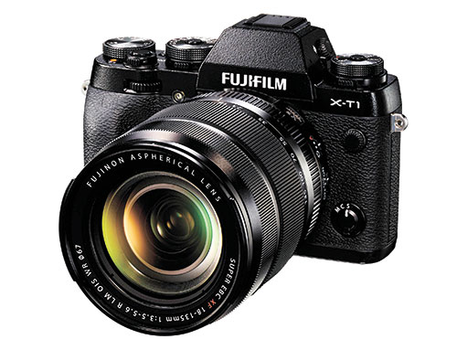 The multi-awarded Fujifilm XT1. Mirrorless camera using X-Trans sensor that gives the sharpesta image. This time, the new model XT1 IR offers Infrared features.