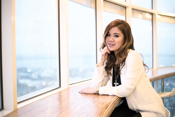 ELEMENTS OF STYLING. Interior stylist Erika Joan Ong says her passion is a lot similar to that of styling celebrities, wherein she gets to know clients first and incorporating what she's learned into her work.