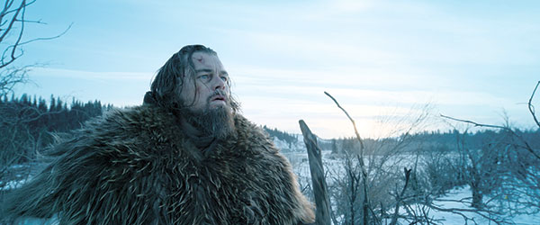 "Leonardo DiCaprio as Hugh Glass, in a scene from the film, ""The Revenant,"" directed by Alejandro Gonzalez Inarritu. (AP)"