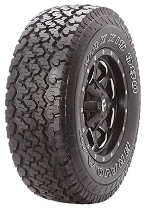 Maxxis AT-980 SUV or 4x4 riders can rely on Maxxis AT-980 to bring out the most out of their vehicles, whether on - or off - road. The unique zig-zag block design pattern provides extra traction edges for improved off road performance.