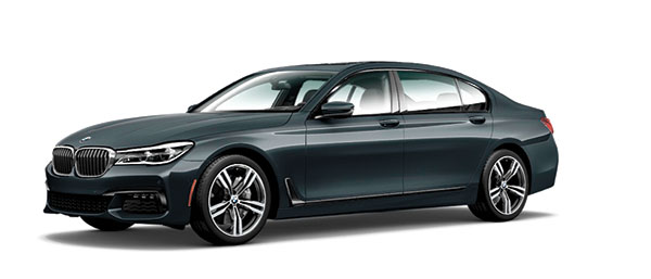 """FLAGSHIP SEDAN. Described as """"the pinnacle of driving, innovation, and luxury,"""" the 2016 BMW 7 Series sets the standard for elite travel."""