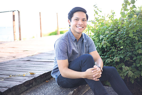 FOR A BETTER WORLD. To complement his other pursuits, Carlo is an active member of the Cebu hub for Global Shapers, an organization under the World Economic Forum of 20 to 30 year olds who curate grassroots projects.