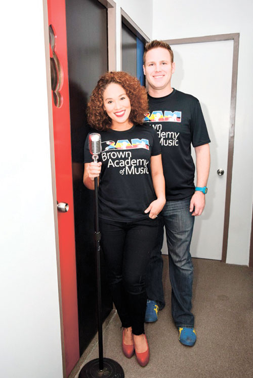 Adam Michael Brown and Anna Marie Fegi of BAM