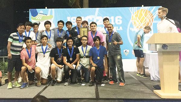 ISAC 2016 champions CIS Boys Football Team