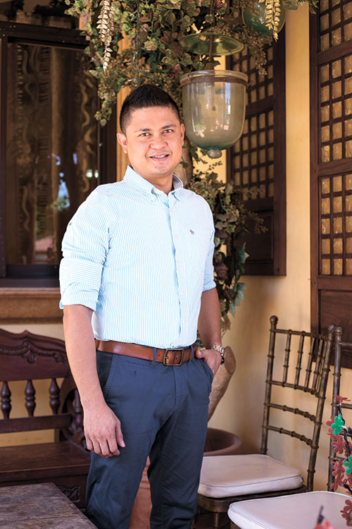 HIS TURN. Meet Jay-r dela Calzada, operations manager of long-running food catering business Cocina Calza. For years, he's learned the ropes of the food business here and abroad. Now, it's his turn to run the family business.