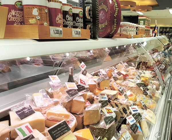 Rustan's Cheese Section