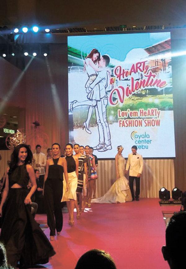 Miss Cebu 2016 winners at the Lov'em HeArty Fashion Show