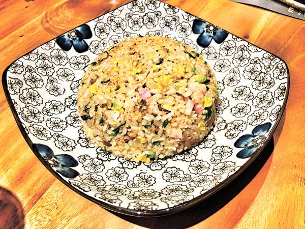 Seafood Chahan