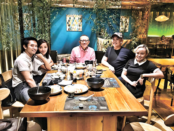 With Michael Karlo Lim, Vanessa East, Philip Rodriguez, and Patty Taboada