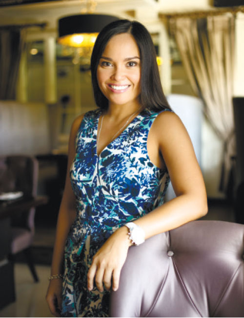 PALATABLY YOURS. As part of the family-owned Casa Verde Group, Patricia Noel handles the marketing and branding of the company's emerging brands such as The Suite Room, Room for Dessert and the Manila-based The Porch.