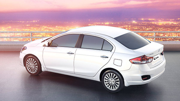 The Ciaz comes in three variants: The GL manual, GL automatic and top-spec GLX automatic.