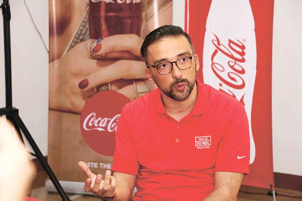 Coca-Cola FEMSA Corporate Affairs Director Juan Carlos Dominguez