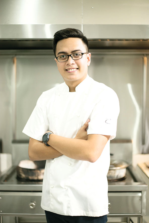 KITCHEN CREATIVE. Hooked on cooking early on, Fritz Alami Cañedo has made a career out of his passion for food, using his talents to create kitchen masterpieces through his venture Delicate Catering.
