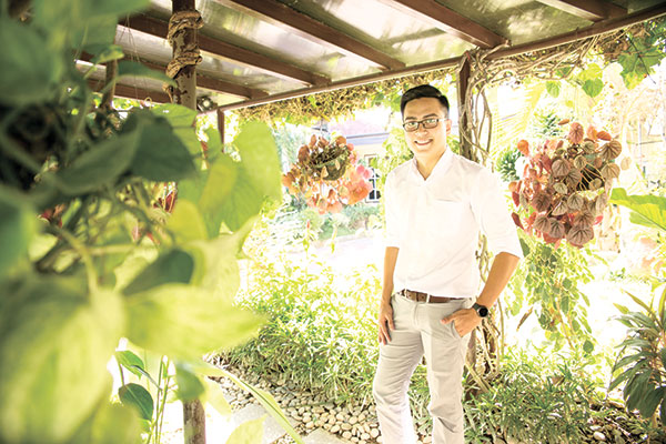CHEF AT HOME. After finishing his bachelor's degree in Cebu,  Fritz Alami Cañedo took further studies at the internationally recognized culinary arts school Le Cordon Bleu in Australia, then returned to his hometown in Minglanilla to start his own catering business from scratch.