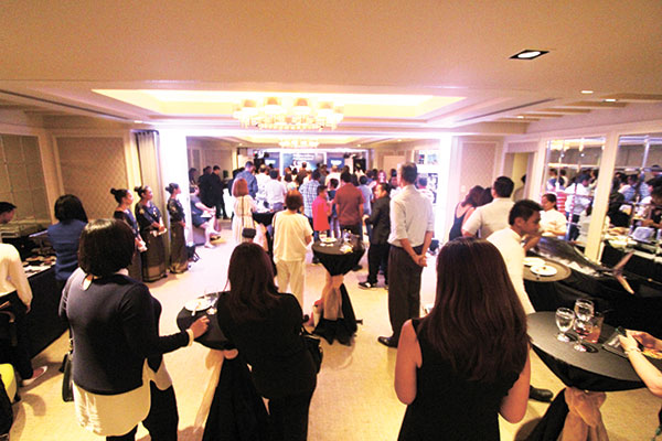 The big launch of Chef Tatung's new book at Rockwel Hotel's Aruga. (Photo by Eds Capili)