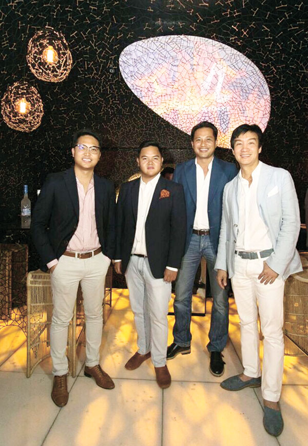 Michael Lim, Paco Rodriguez, Glen Soco, and Kenneth Cobonpue