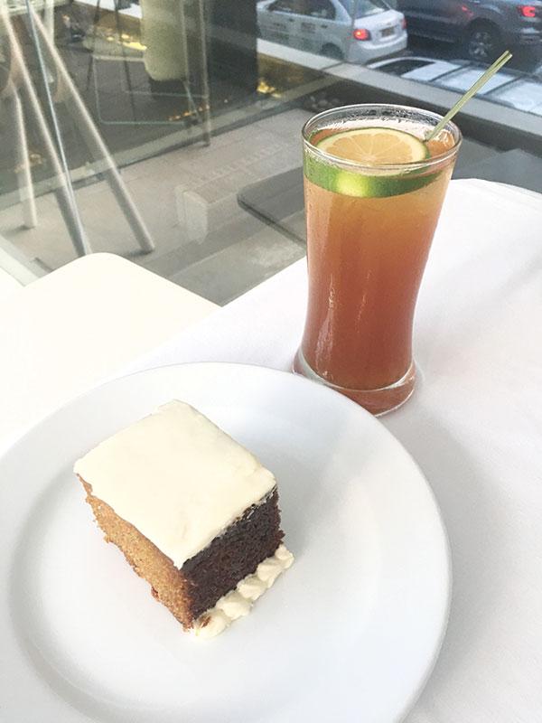 Morally Tea and Carrot Cake