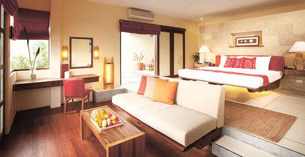 Honeymoon Villa Bedroom