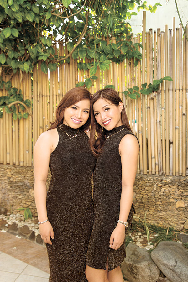 PARTNERS. Jennifer and  Jasmin Weigel-Sarmiento are not your ordinary twin stunners. These lovely twins are the best of partners in the business of beautiful skin as proprietors of skin center Beauty and Beyond.