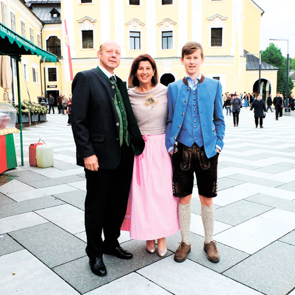 An Austrian family in their Sunday's Best