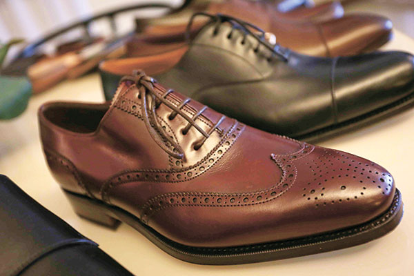 Carmina Shoemaker carries a centuries-old tradition of meticulous craftmanship.