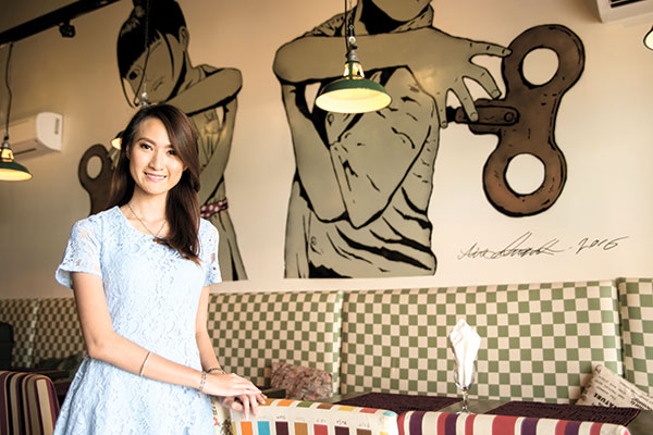 ON THE LOOKOUT. Kate Tiffany Yu loves to travel to beautiful places in the world. But even while traveling, the businesswoman in her comes along, looking out for new businesses from other countries that might click in Cebu.