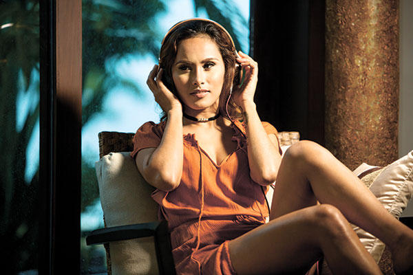 There are moments when everything just falls into place. The lights, the camera settings, the model and makeup were just right on target of what I had in mind. These are times when Photoshop becomes irrelevant. The objective is to do it right when shooting, so you don't spend too much in post processing. (Model: DJ NIsh, HMUA: George Villamor)