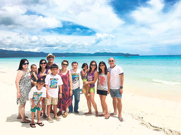 Family Picture in Boracay