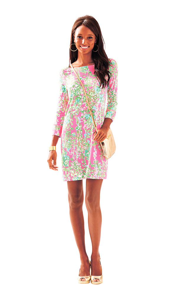 Lilly Pulitzer Flamingo Pink Southern Charm Sophie Dress