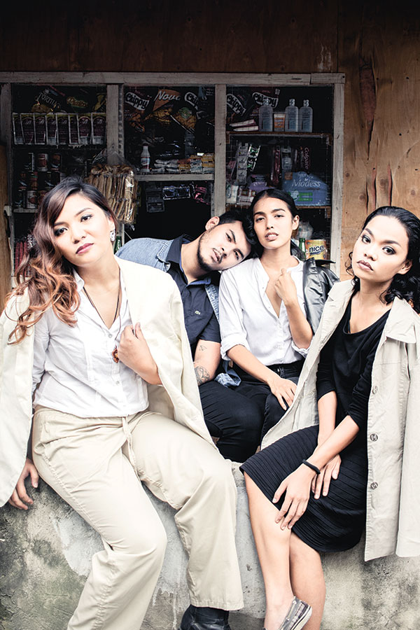 RIGHT RECIPE.  Sutukil Sauce's (from left) Samantha Solidum, Chai Fonacier, Maria Gigante and Ted Paraiso have found the right recipe to cause a stir all over social media with their comedic yet thought-provoking take on everyday stories.
