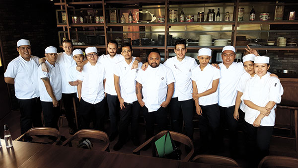 The Pig & Palm chefs