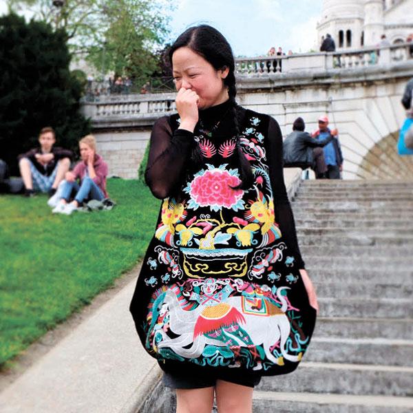 Asian tourist