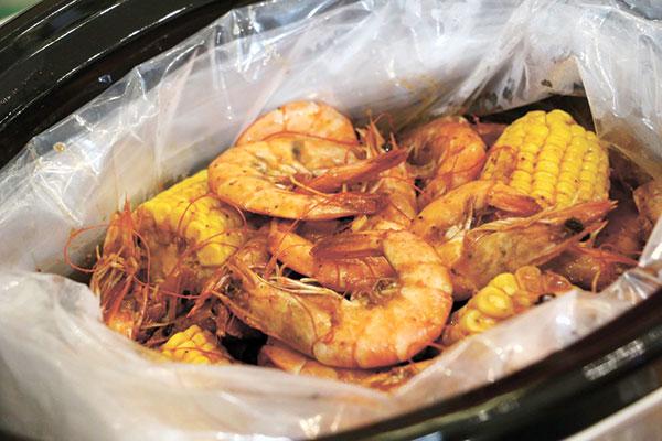Choobi Choobi's famous shrimp