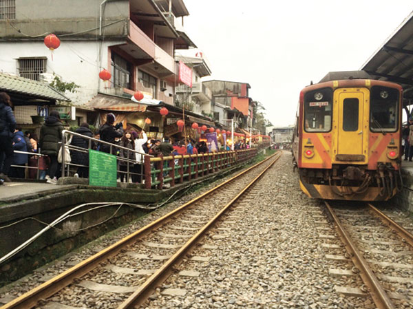 Shifen's old railway