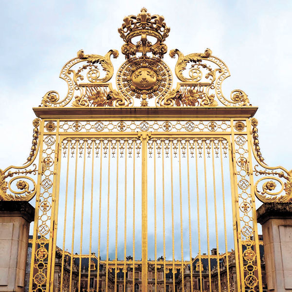 The gates of the Versailles