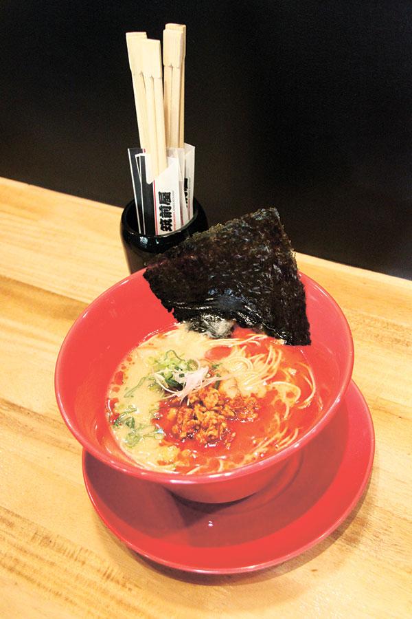 Aka Tonkotsu Ramen: the spicy tonkotsu