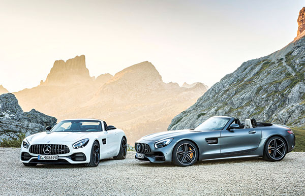 Daimler AG's 2016 AMG GT Roadster and AMG GT C Roadster
