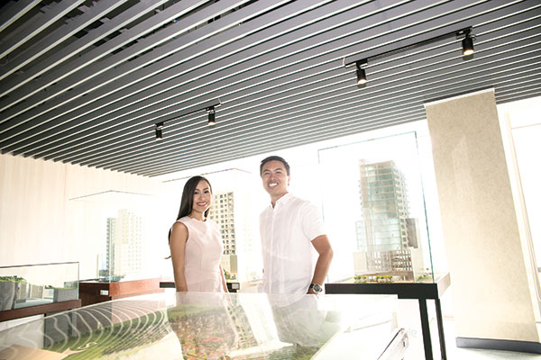 THEIR WORLD. For Franco and Joie Soberano, being siblings working as top executives for the family business makes everything easier in the high-pressure world of real estate. Not only do they know each other well, Franco and Joie share similar values and a common goal for Cebu Landmasters Inc.