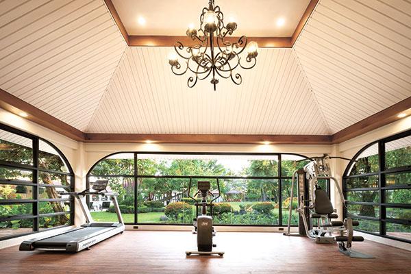 Montebello Villa Hotel's newly installed Wellness Center