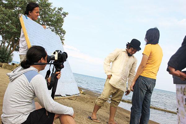 Shooting at a beach in Liloan with Rapi Sescon as Beauregard