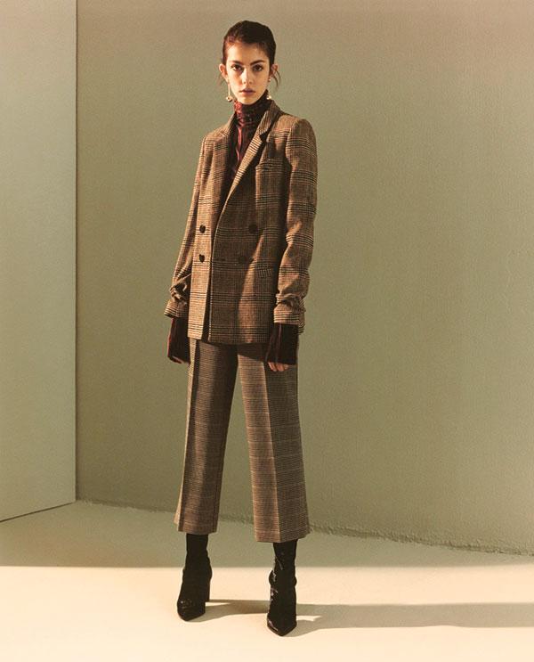 Tweed jacket and trouser coordinates