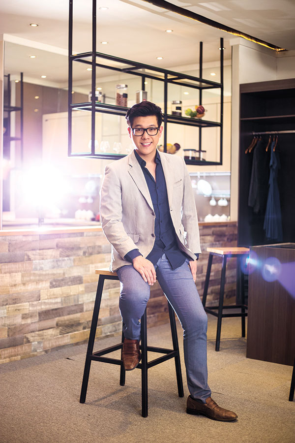 PURSUITS. While still pursuing his profession as an architect, Ed Chua builds a furniture design business that has its beginnings from a childhood passion of his.