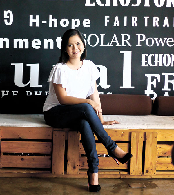 BRIDGING THE GAP. Meyan Young runs a business that not only offers all-natural and artisanal homegrown products, it promotes fair trade and serves as a bridge between consumers and local producers.