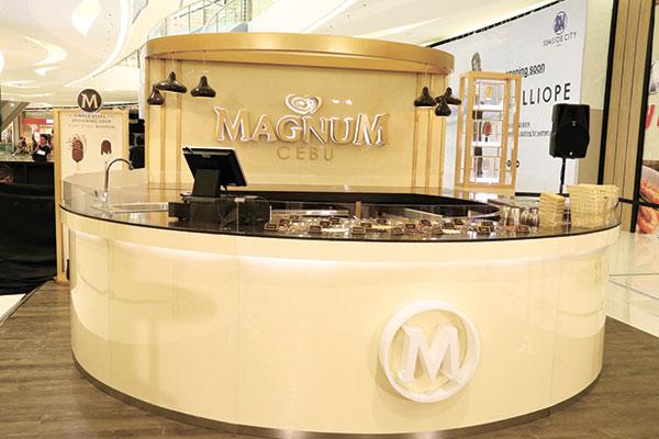 Magnum Cebu Pop-up Store at at SM Seaside City Cebu