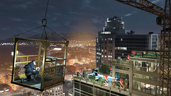 """A scene from the video game, """"Watch Dogs 2."""" (Ubisoft via AP)"""