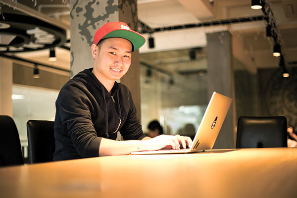 REALMAKER. Royce Albert Dy was instrumental in turning his partner and co-founder Seph Mayol's app idea into reality. Royce's technical expertise ensures a great experience for the app's growing number of users.