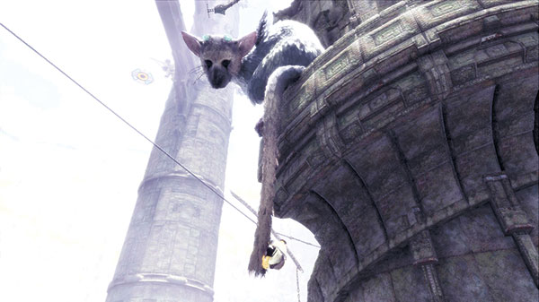 "A scene from ""The Last Guardian."" (Sony Interactive Entertainment via AP)"